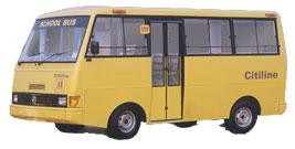 Force Motors Citiline School Bus 16 Seater Review and Images