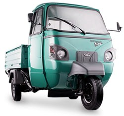 Mahindra Alfa Cargo CNG Review and Images