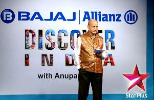 Bajaj Allianz Discover India With Anupam Kher