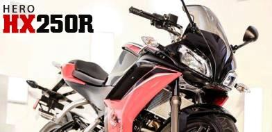 Hero HX250R details, specifications, photos and price in india