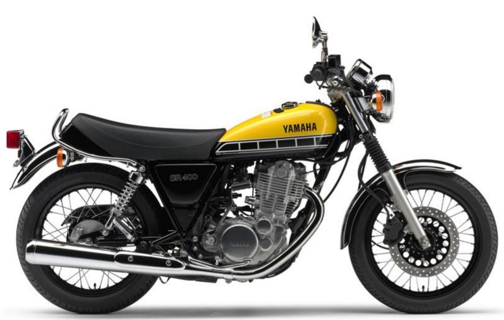 yamaha sr400 price specs review pics mileage in india. Black Bedroom Furniture Sets. Home Design Ideas