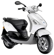 Piaggio Fly 125  Review and Images