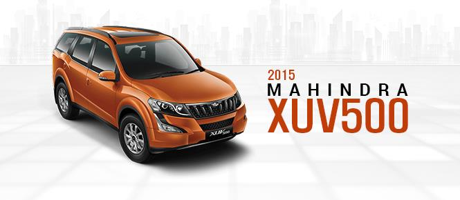 2015 Mahindra XUV500 Officially Launched