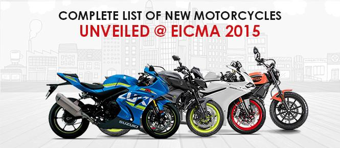 EICMA 2015: Complete Coverage