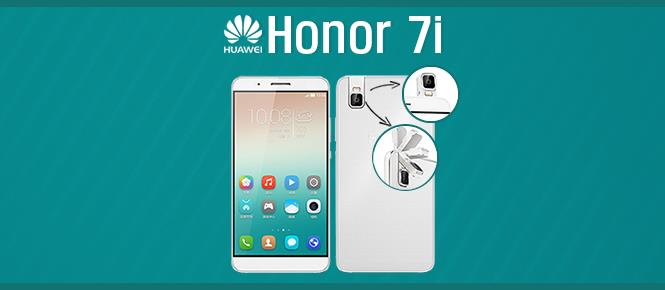 Huawei Honor 7i with 13MP flip camera officially announced