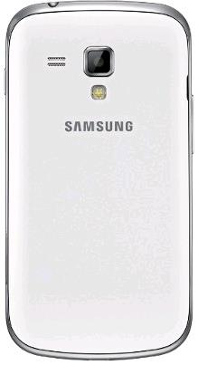 Samsung Galaxy S Duos S7562 Rear View