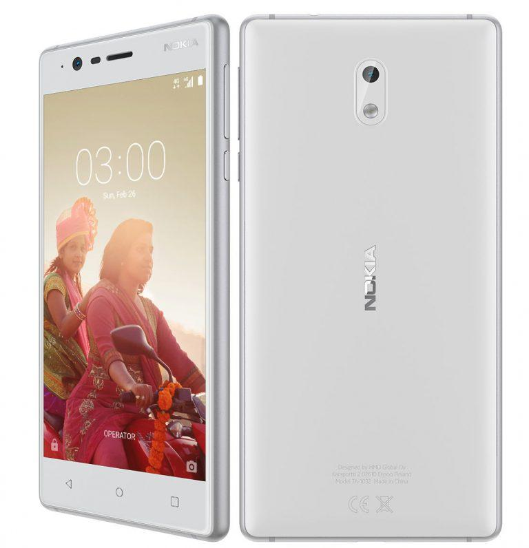 Nokia 3 Android Smartphone Features Specifications Details