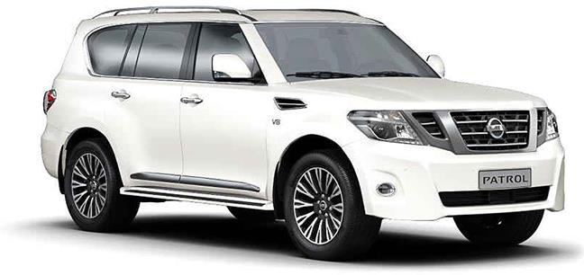 Nissan Patrol V8 Price, Specs, Review, Pics & Mileage in India