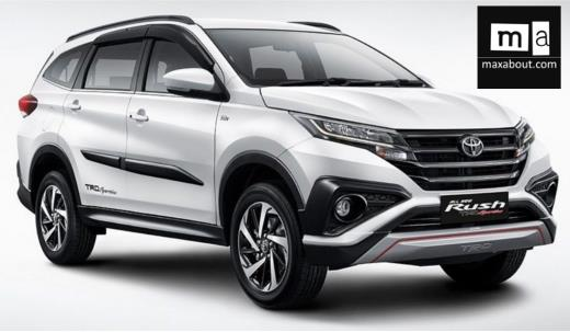 Toyota Rush (2018) Price, Specs, Review, Pics & Mileage in India
