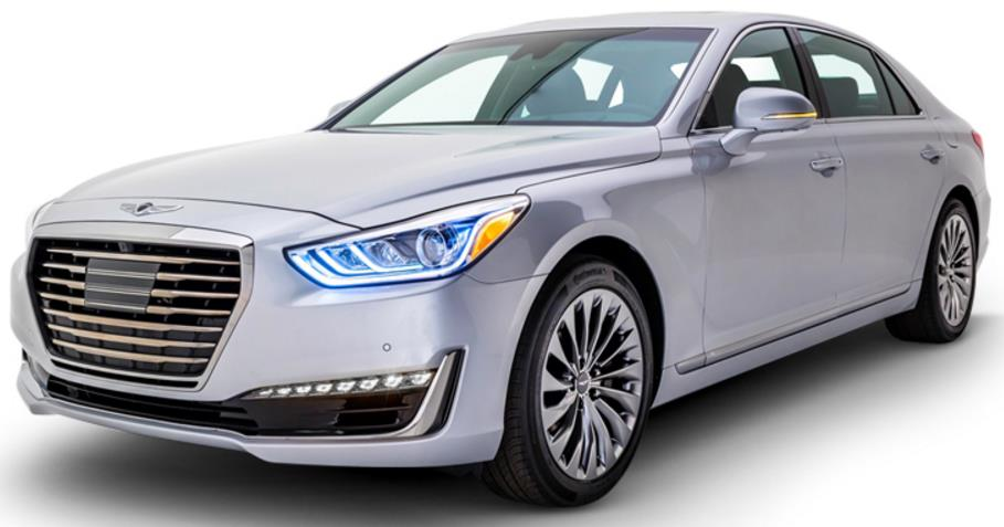 hyundai genesis g90 v6 price specs review pics mileage in india. Black Bedroom Furniture Sets. Home Design Ideas