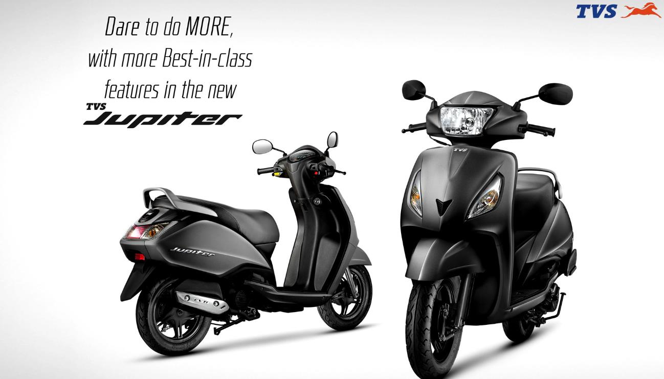TVS Jupiter Price, Specs, Review, Pics & Mileage in India