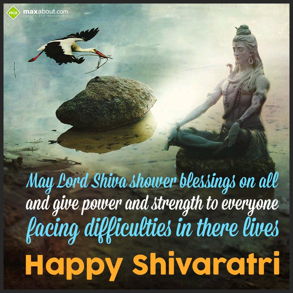 May Lord Shiva Shower Blessings On All And Give P